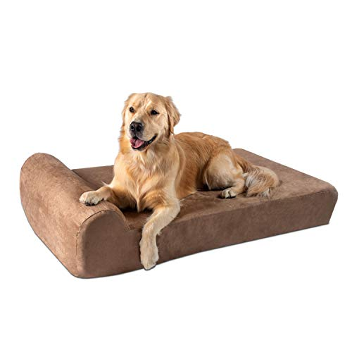Big Barker Orthopedic Dog Bed Headrest Edition