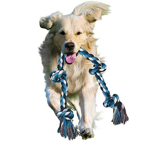 Achivy Dog Rope Toy For Aggressive Chewers