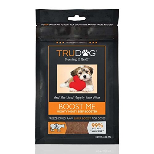 TruDog Boost Me: Mighty Meaty Beef Booster