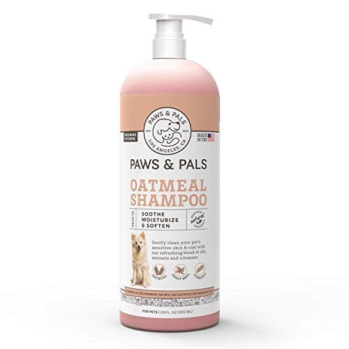 Paws & Pals Natural Oatmeal Dog-Shampoo And Conditioner