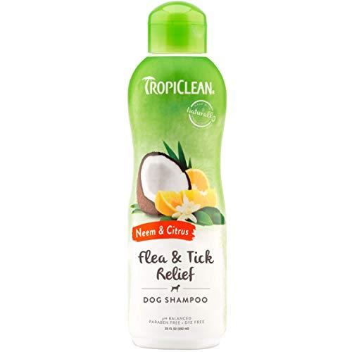 TropiClean Neem & Citrus Pet Shampoo