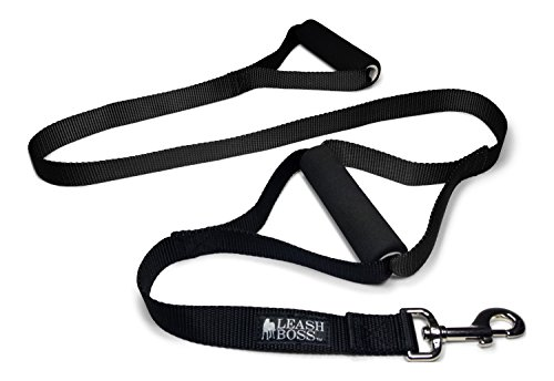 Leashboss Heavy Duty Two Handle Dog Leash