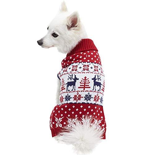 Blueberry Pet Festive Christmas Dog Sweater