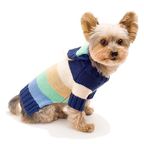 Stinky G Happy Stripes Hoodie Sweater