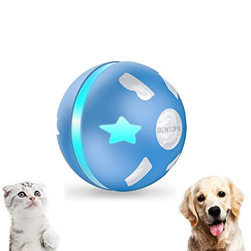 PetDroid Interactive Dog/Cats Ball Toys,Durable Motion Activated Automatic Rolling Ball Toys for...