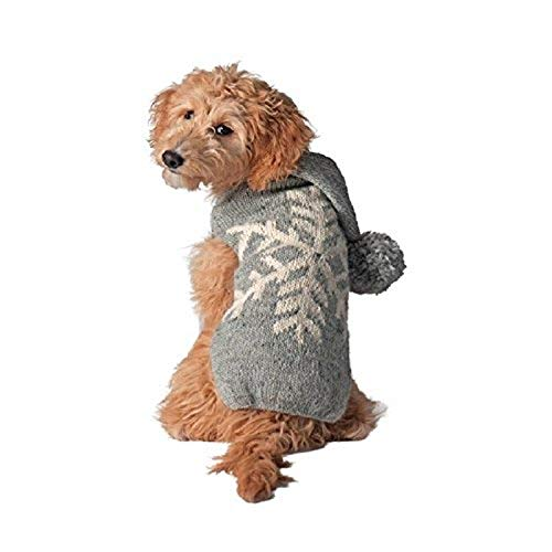 Chilly Dog Alpaca Snowflake Sweater
