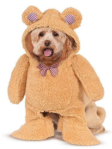 Rubies Walking Teddy Bear Pet Costume