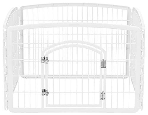IRIS 4-Panel Pet Playpen With Door