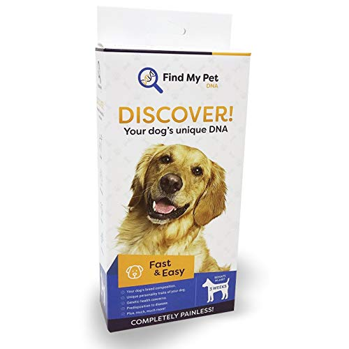 Find My Pet DNA Dog DNA Test