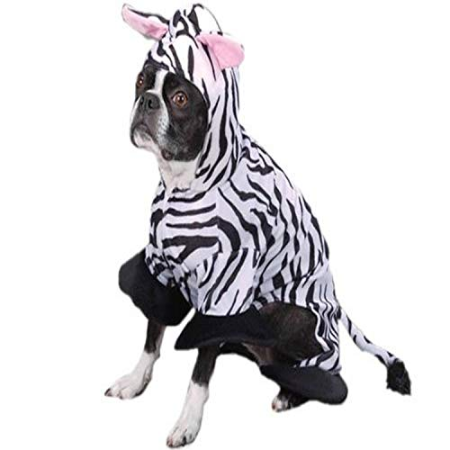 Zack & Zoey Zebra Dog Costume
