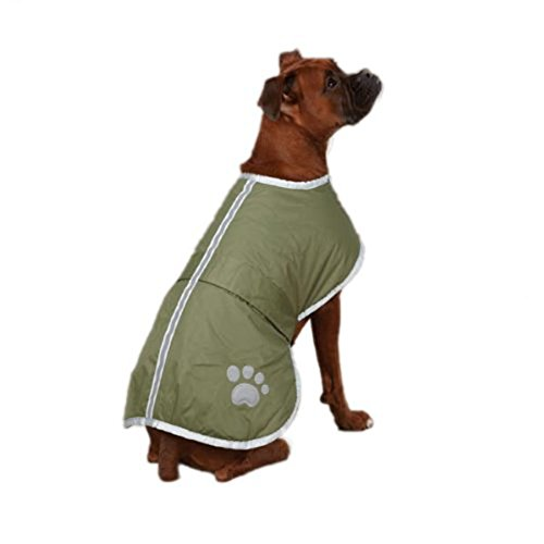 OHF Waterproof Quilted Dog Coat