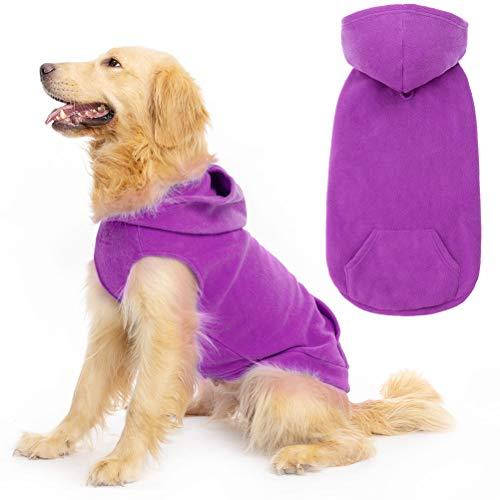 Expawlorer Fleece Dog Hoodie
