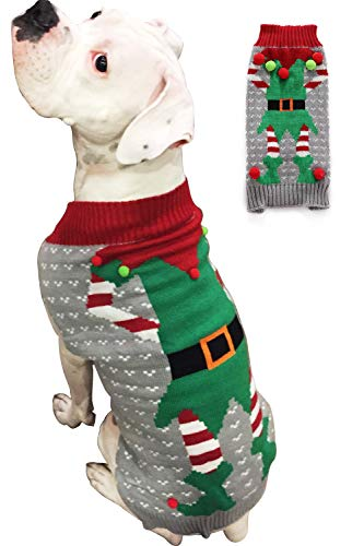 BOBIBI Christmas Dog Sweater