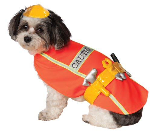 Rubies Construction Worker Pet Costume