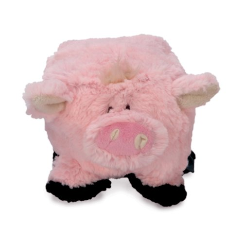 goDog Puppy Tough Ball Pig Dog Toy