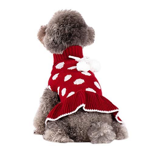 Kyeese Turtleneck Polka Dot Sweater