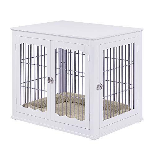 Unipaws End Table Pet Crate