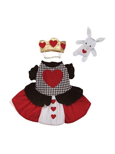 Casual Canine Queen Of Hearts Halloween Dog Costume