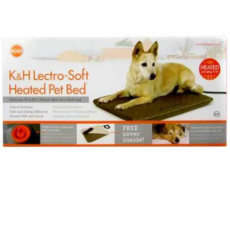 K&H Manufacturing KH Lectro Soft Heated Pet Bed