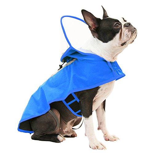 Gooby Raincoat With Rain Cap & See-Through Visor