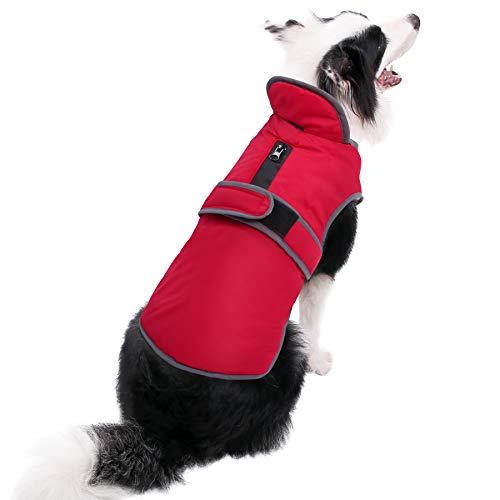 Migohi Reflective Waterproof Windproof Dog Coat