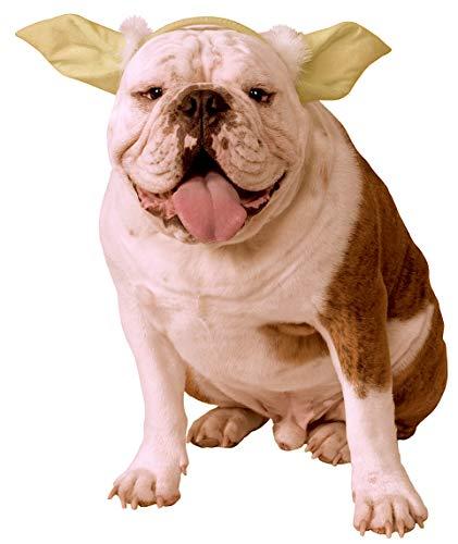 Star Wars Classic Yoda Dog Headpiece, Small/Medium
