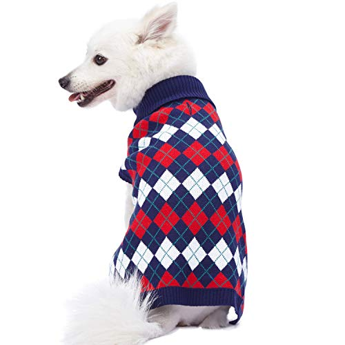 Blueberry Pet Nordic Pattern Dog Sweater