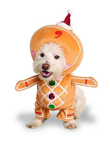 Rubies Walking Gingerbread Man Pet Costume