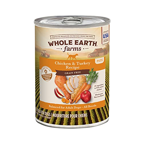 Whole Earth Farms Grain Free Canned Dog Food (12 Pack)