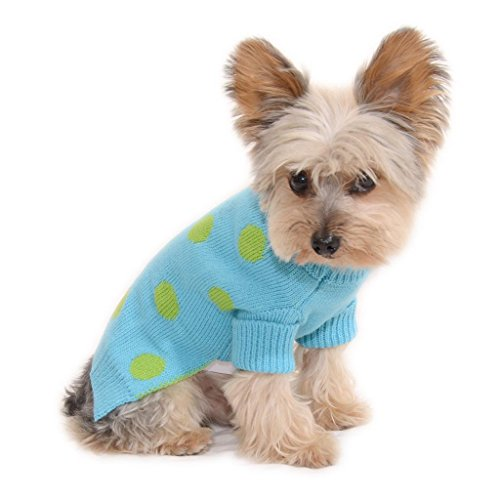 Stinky G Lime Green Pet Sweater
