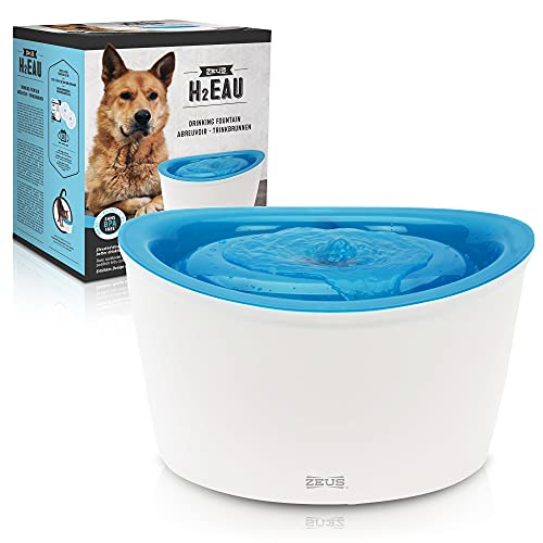 Zeus Fresh & Clear Elevated Dog Water Fountain