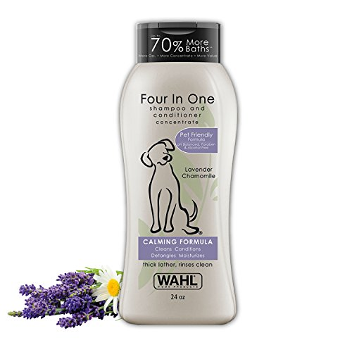 Wahl 100% Natural Pet 4-in-1 Shampoo