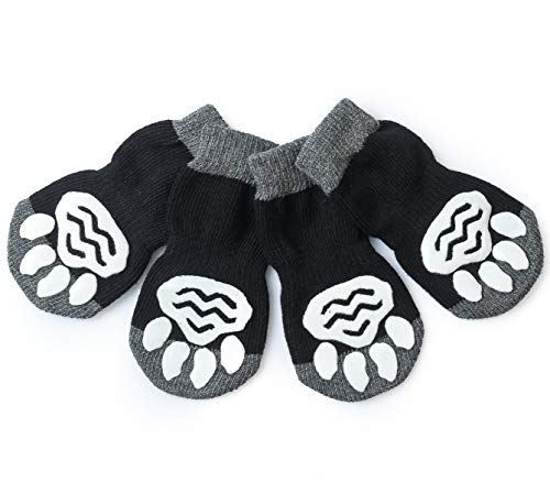 Harfkoko Pet Heroic Anti-Slip Dog Socks