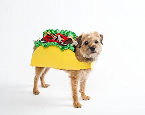 Taco Halloween Dog Costume