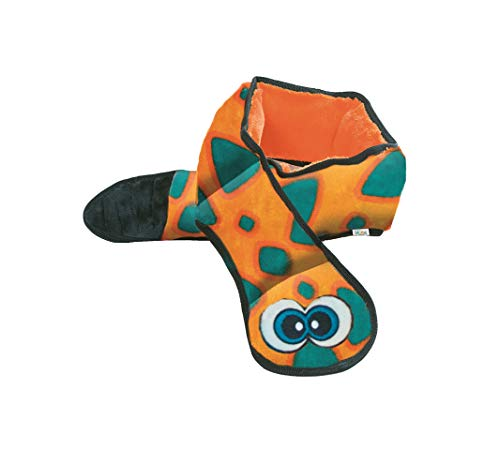 Outward Hound Invincibles Snake Stuffing-Free Dog Toy