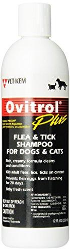 Vet-Kem Ovitrol Plus Flea & Tick Shampoo