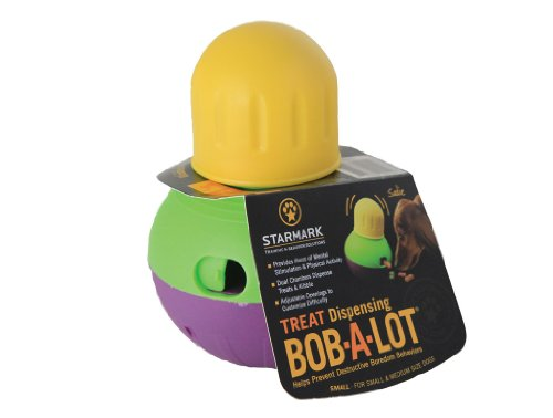 Starmark Treat Dispensing Bob-a-Lot Dog Toy