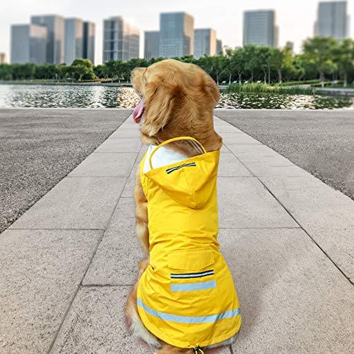 Lesypet Dog Waterproof Raincoat
