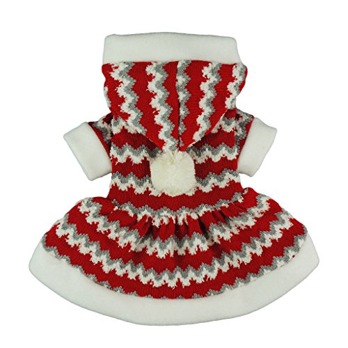 itwarm Christmas Party Knitted Dress