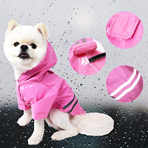 Cutie Pet Dog Raincoat Waterproof Coat