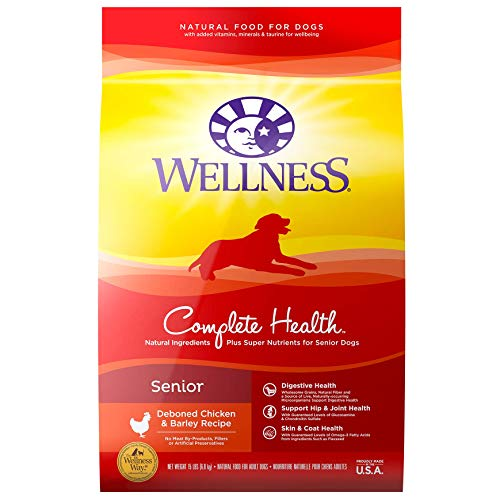 Wellness Complete Health Natural Dry Senior Dog Food