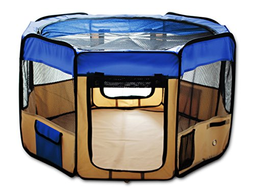 ESK Collection Pet Exercise Pen Kennel