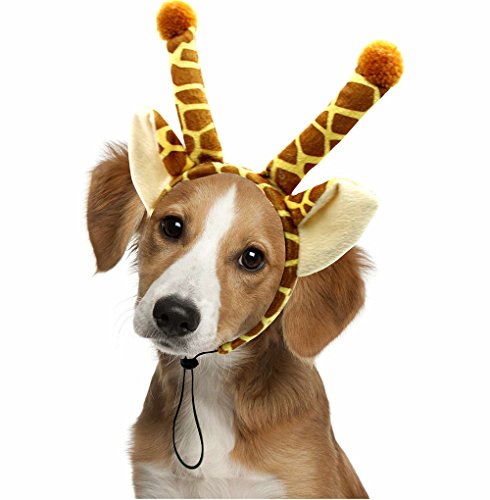 Halloween Giraffe Dog Headband Costume