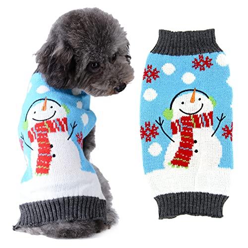 Doggyzstyle Christmas Snowman Dog Sweater