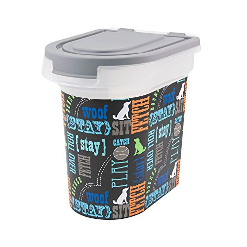 Paw Prints Food Bin
