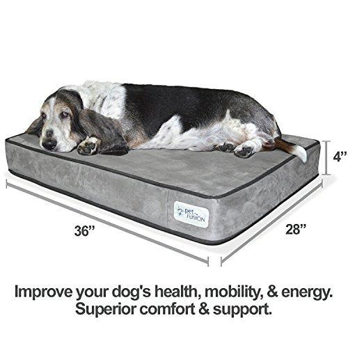 PetFusion Serenity Lounge Dog Bed