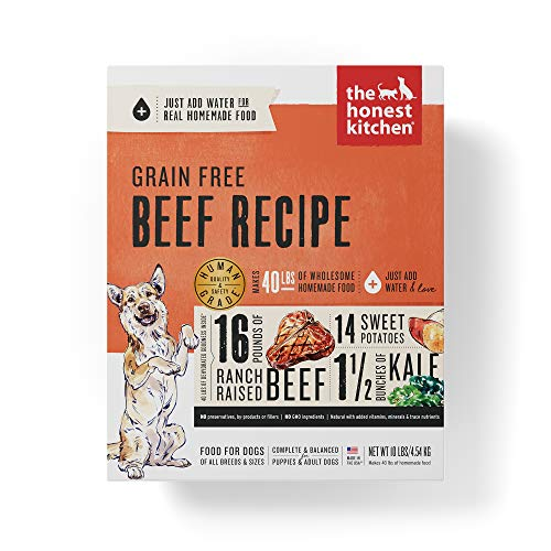 The Honest Kitchen Love: Grain Free Beef Dog Food
