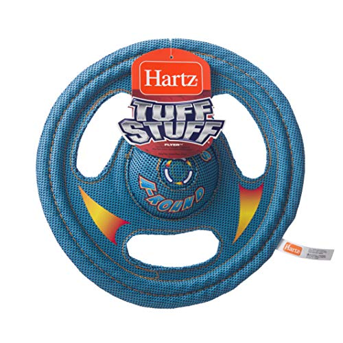 Hartz Tuff Stuff Toss Around Plush Frisbee