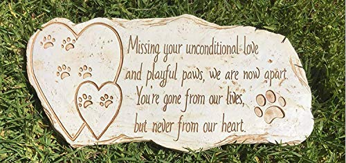 Pawprints Remembered Paw Print Pet Memorial