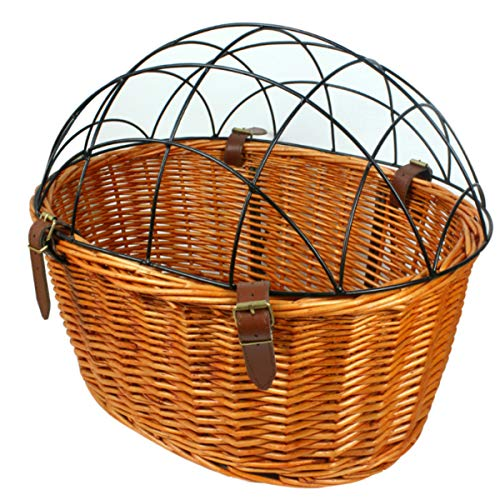 AORYVIC Wicker Dog Basket